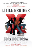 book cover of Little Brother by Cory Doctorow published by Tor Teen