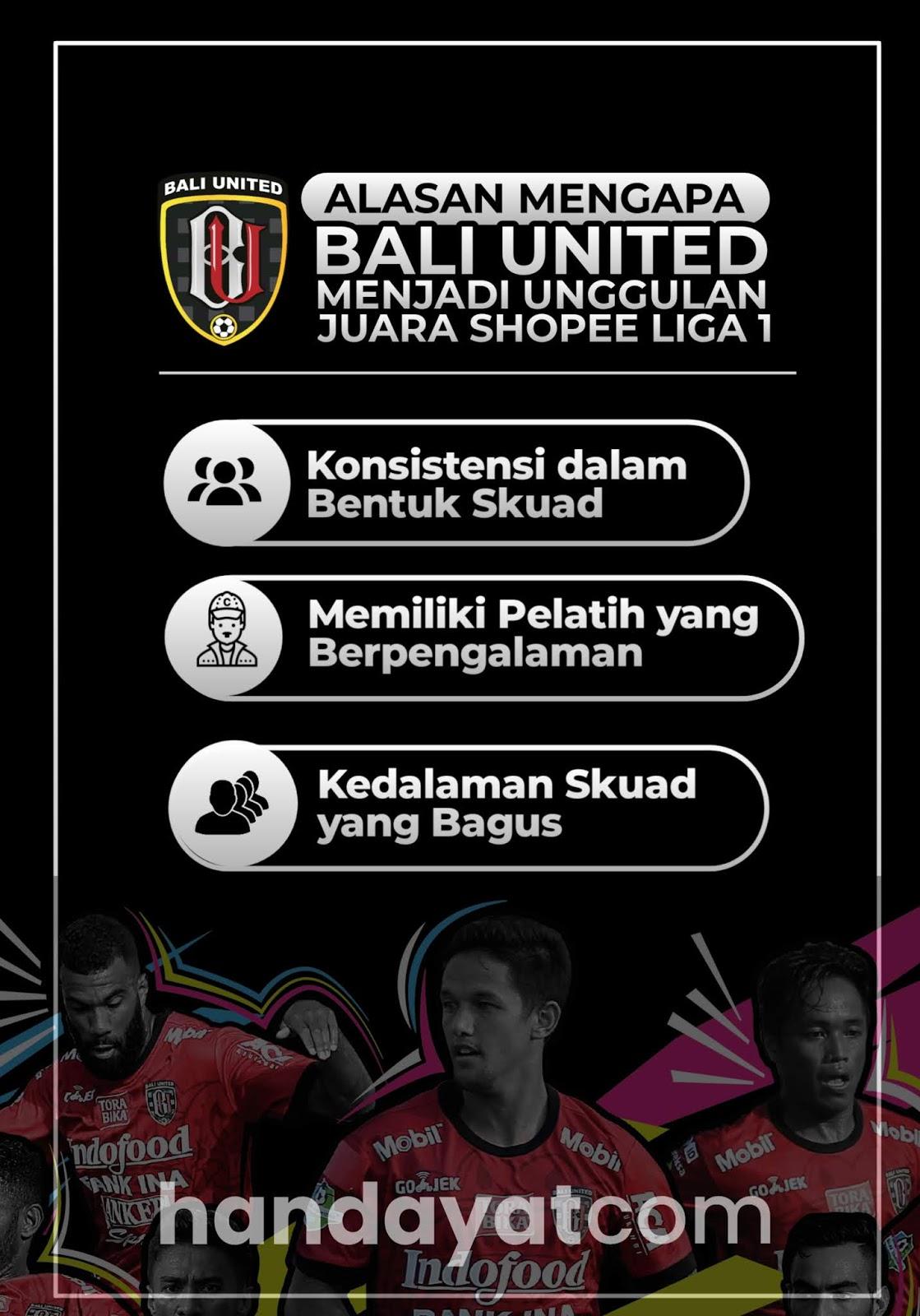 Mengapa Bali United Bakalan Juara?
