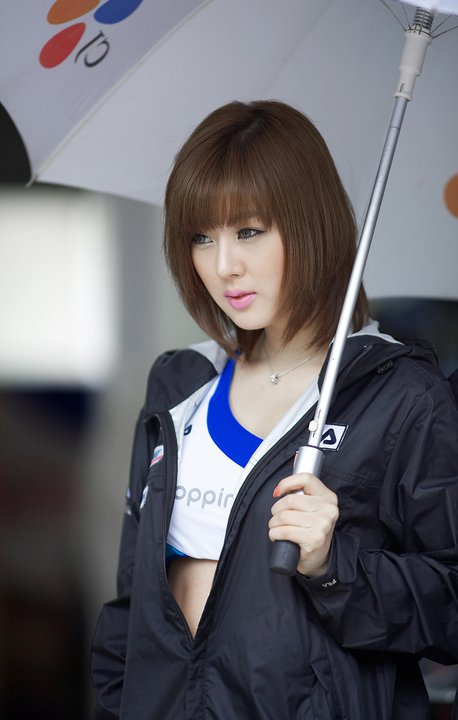 Korean Race Queen: Hwang Mi Hee Profile