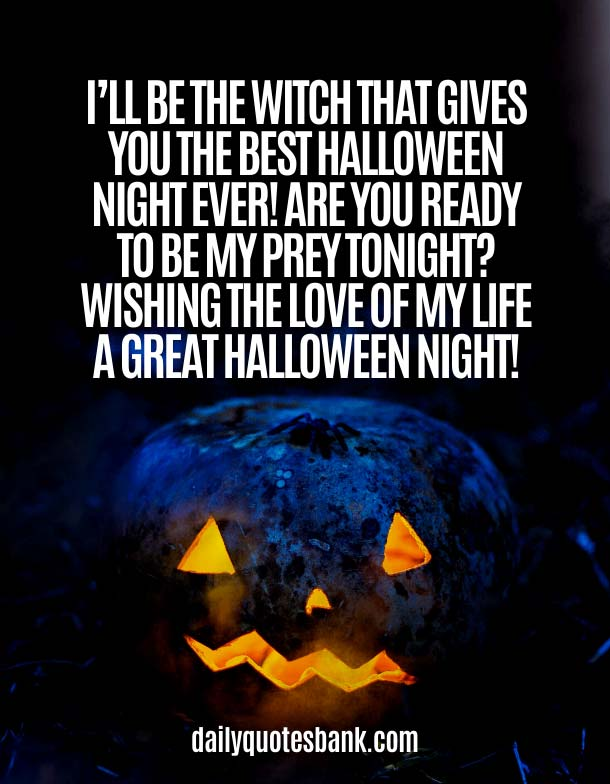 Happy Halloween Wishes Messages & Greetings for Husband, Wife, Girlfriend or Boyfriend