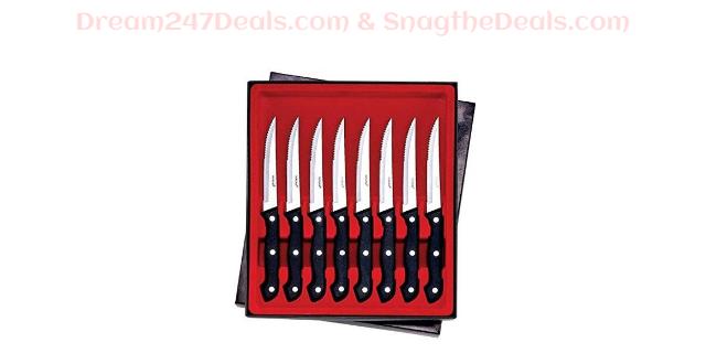 Maxam CTMX8 Steak Knife Set 8 Piece $9.48