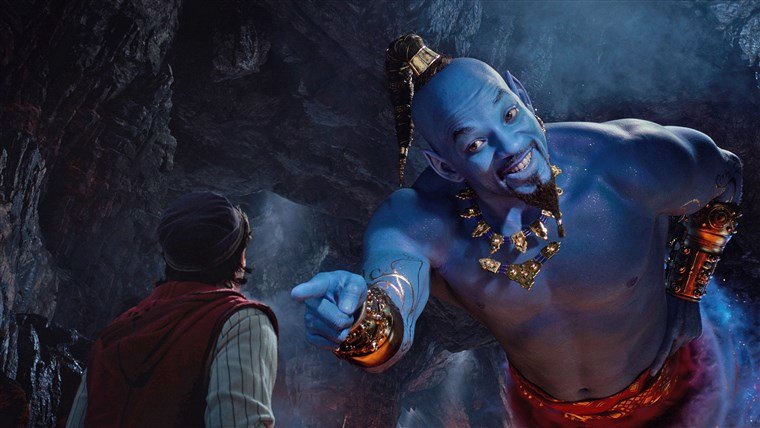Ini Penyebab Jin dalam Film Aladdin Berwarna Biru, Menurut Sains