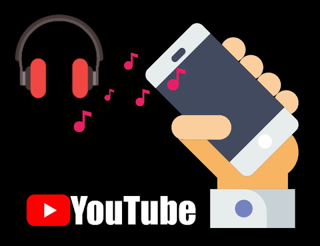 Musica Youtube pantalla apagada