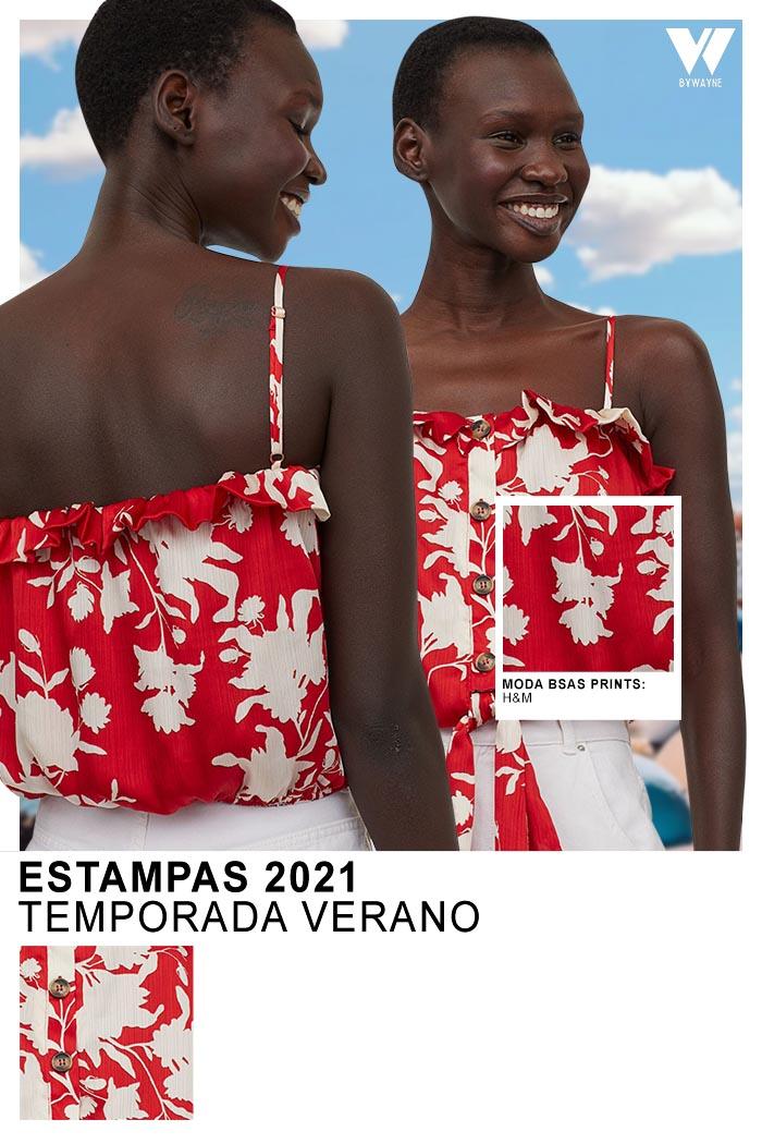 Moda mujer estampas primavera verano 2021