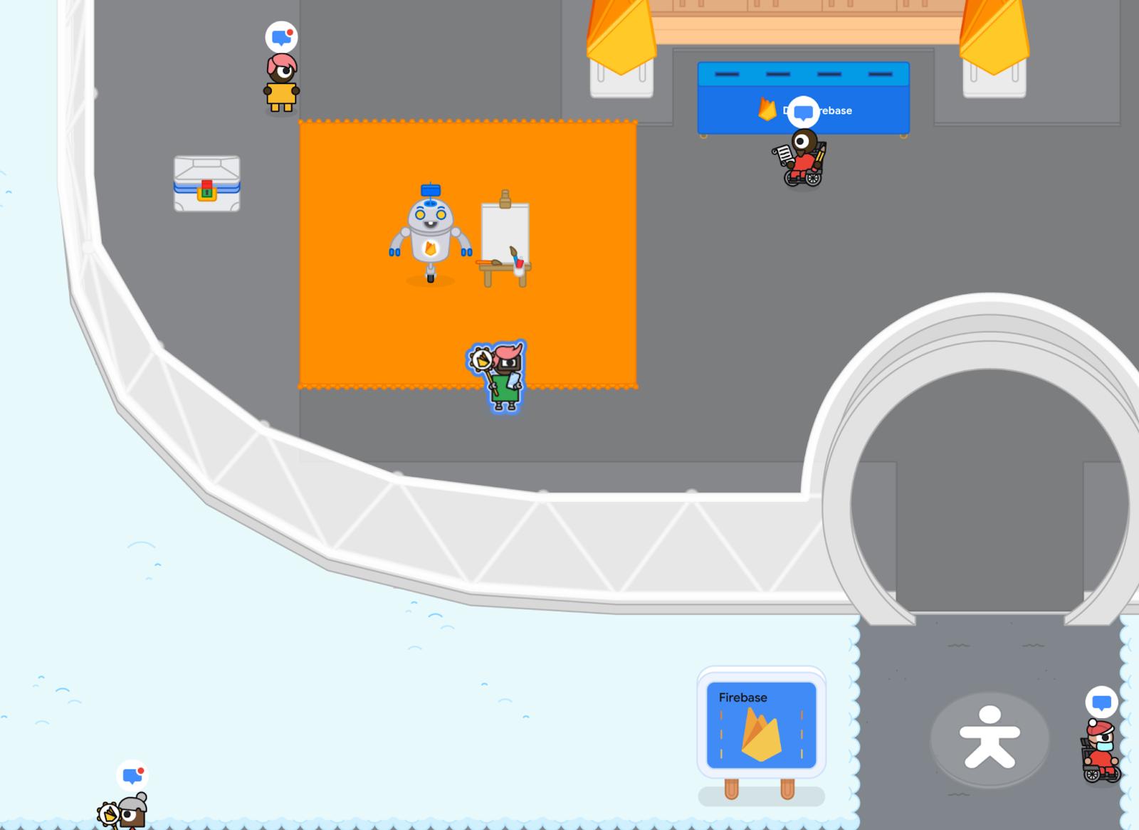 Image from Google IO adventure
