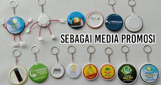 Sebagai Media Promosi merupakan salah satu manfaat gantungan kunci