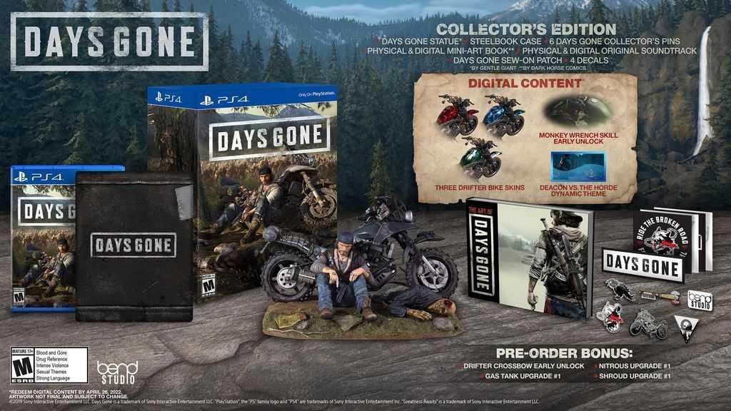 Days Gone pre Order bonus