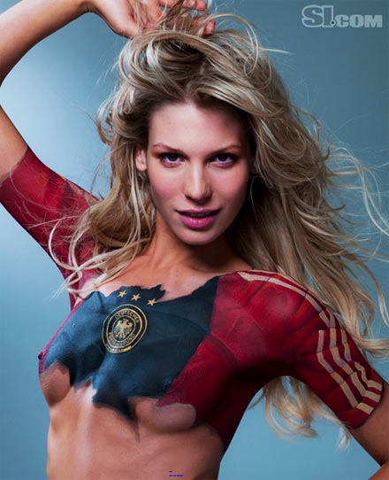 Sarah Brandner Body Painting   Body Painting Pictures