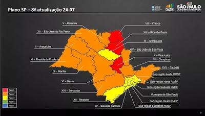 Governo do Estado atualiza Plano SP e estende quarentena até 10 de agosto.