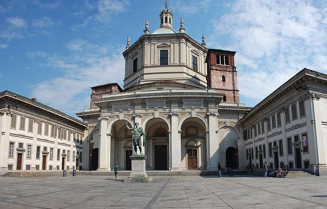 Imagini pentru Biserica San Lorenzo Maggiore Milano