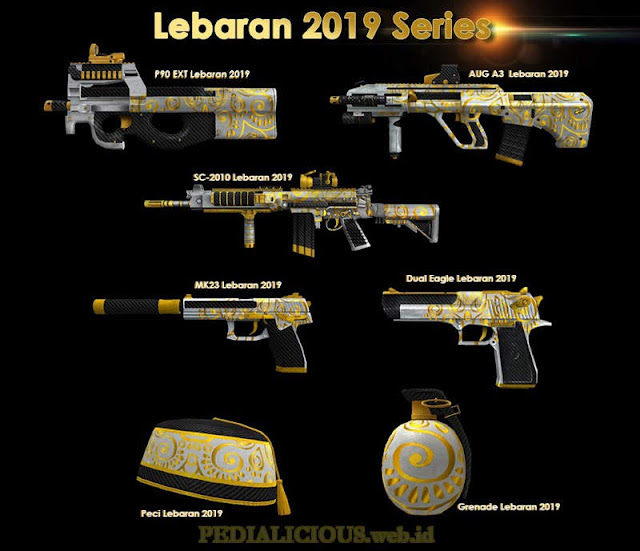 Harga & Statistik Seri Lebaran19 Basic Senjata Point Blank