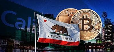 Калифорния - лидирующий штат по степени интеграции криптовалют