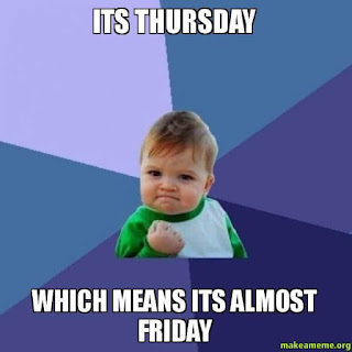Positive Thursday memes, Thursday meme Positive