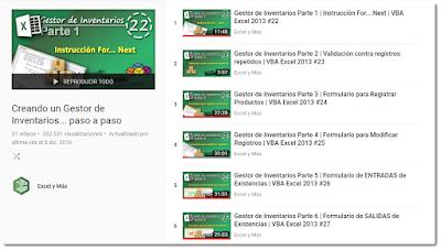 Lista de Reproducción en YouTube