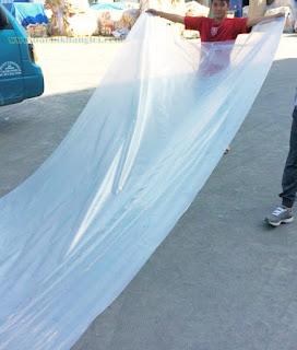 túi ni lông cỡ lớn 220 x 600 cm