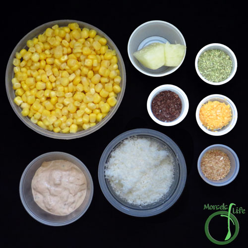 Morsels of Life - Mexican Corn Salad Step 1 - Gather all materials.