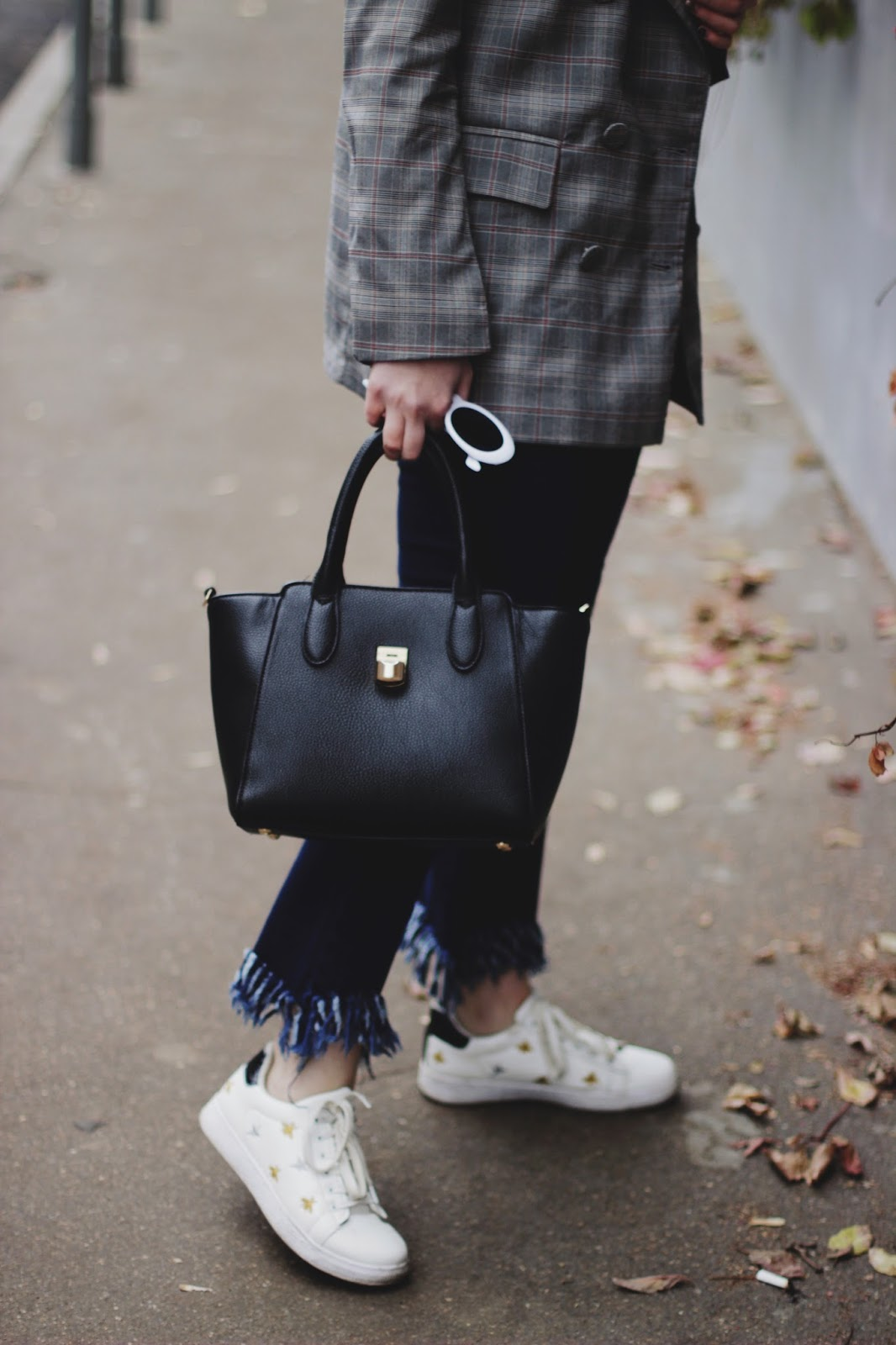 Fringed Jeans | Fashion Blogger