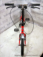 Sepeda Lipat DoesBike 1601 Convoy 16 Inci - Red