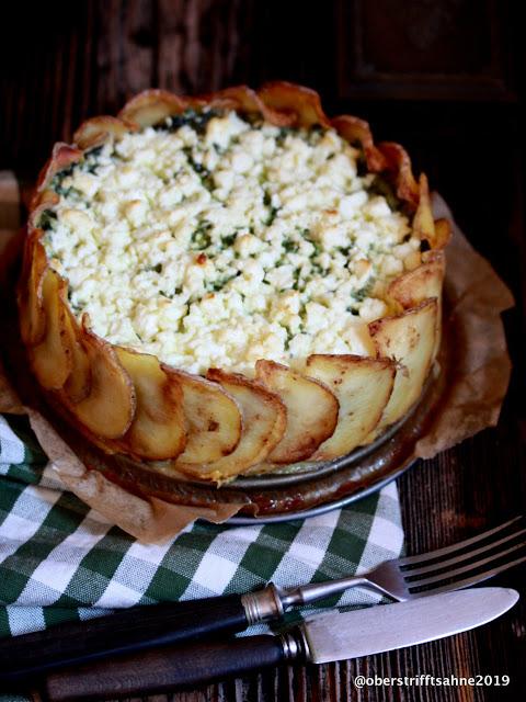 Spinat mit Kartoffel mal anders