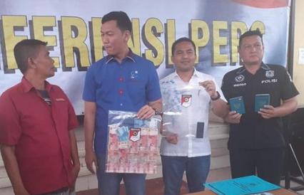 Pers rilis penyelundupan 25 TKI di Tanjungbalai.