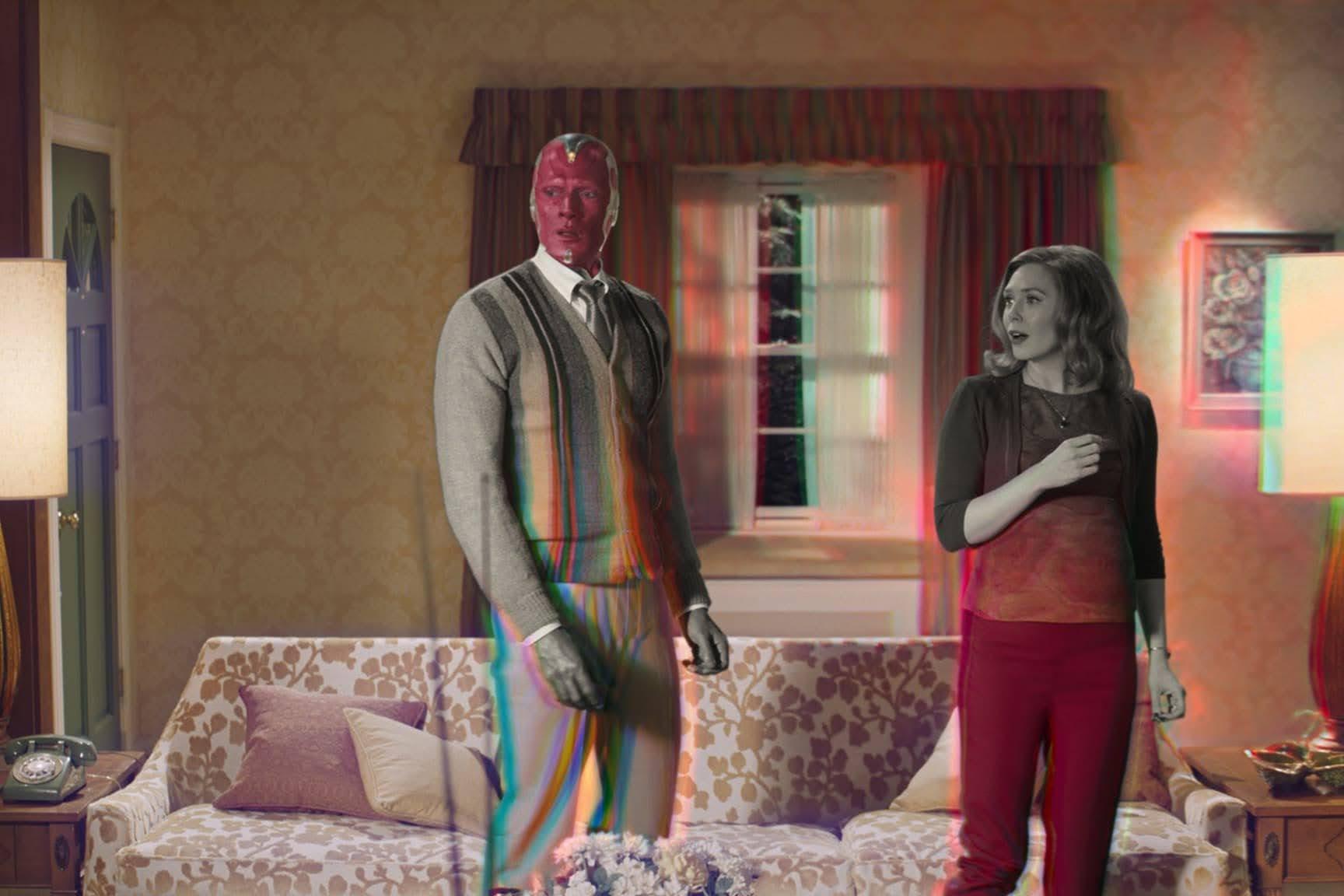 WandaVision : MCU 史上最も複雑なパズルの傑作ドラマ「ワンダヴィジョン」が、シリーズ後半に突入の第6話の配信に先がけて、新しいプロモ・ビデオをリリース‼️(ネタバレはありません😊)