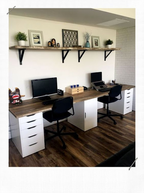 12  Idéias Lindas e Práticas para Home Office Duplo