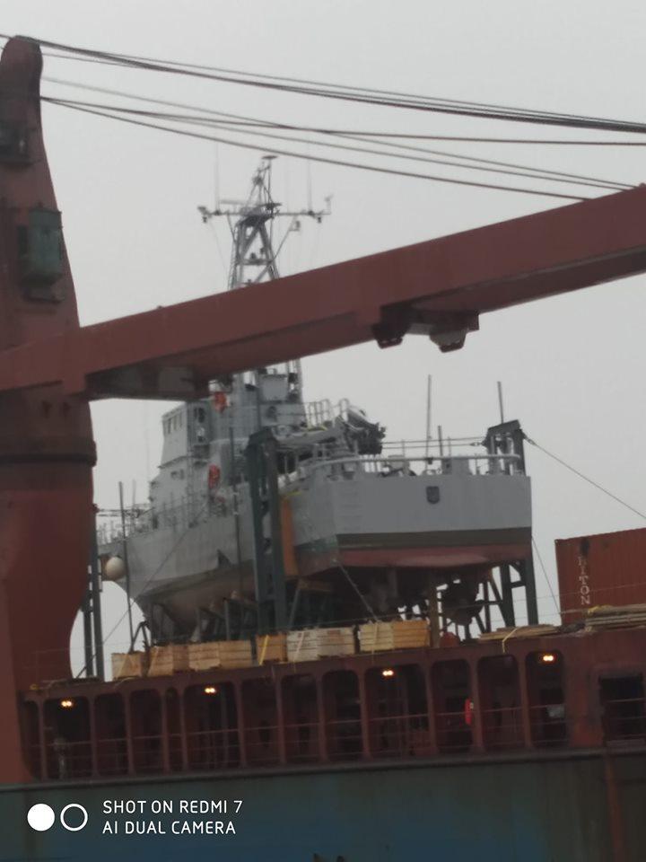 Українські катери Island доставлені до Одеси