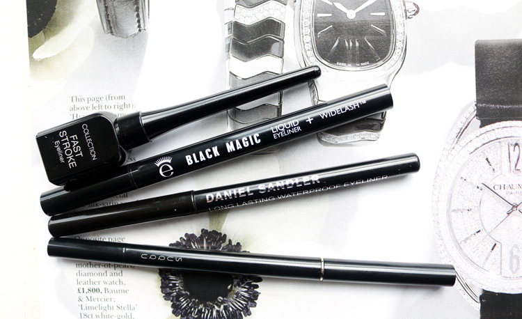 My Current Favourite Black Eyeliners