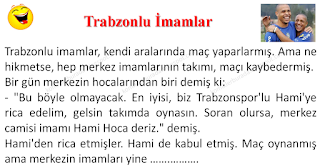 Trabzonlu İmamlar - Karadeniz Fıkraları - Komikler Burada