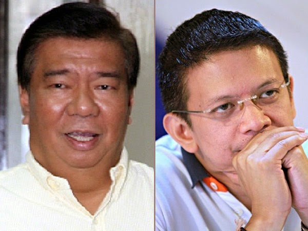 Drilon and Escudero's Tug of War