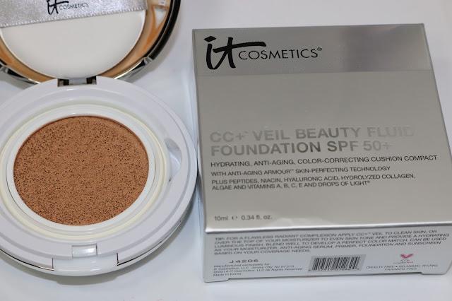 IT Cosmetics CC+Veil Beauty Fluid Foundation,