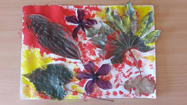 foglie autunno autunno lavoretti http://www.mammecomeme.com/