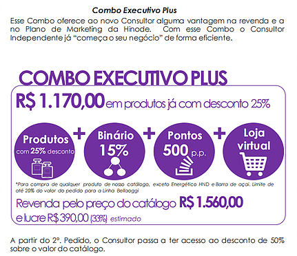 Kit Executivo PLUS Hinode
