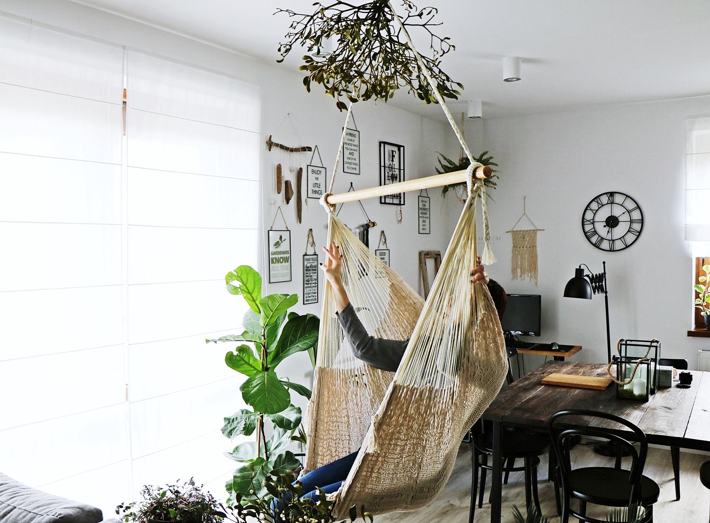 ikea, salon, baba ma dom, babamadom, hamak, jesień, święta, rośliny, stare, vintage, kominek, aranżacje wnętrz, featured, huśtawka, majsterkowanie, prezent,