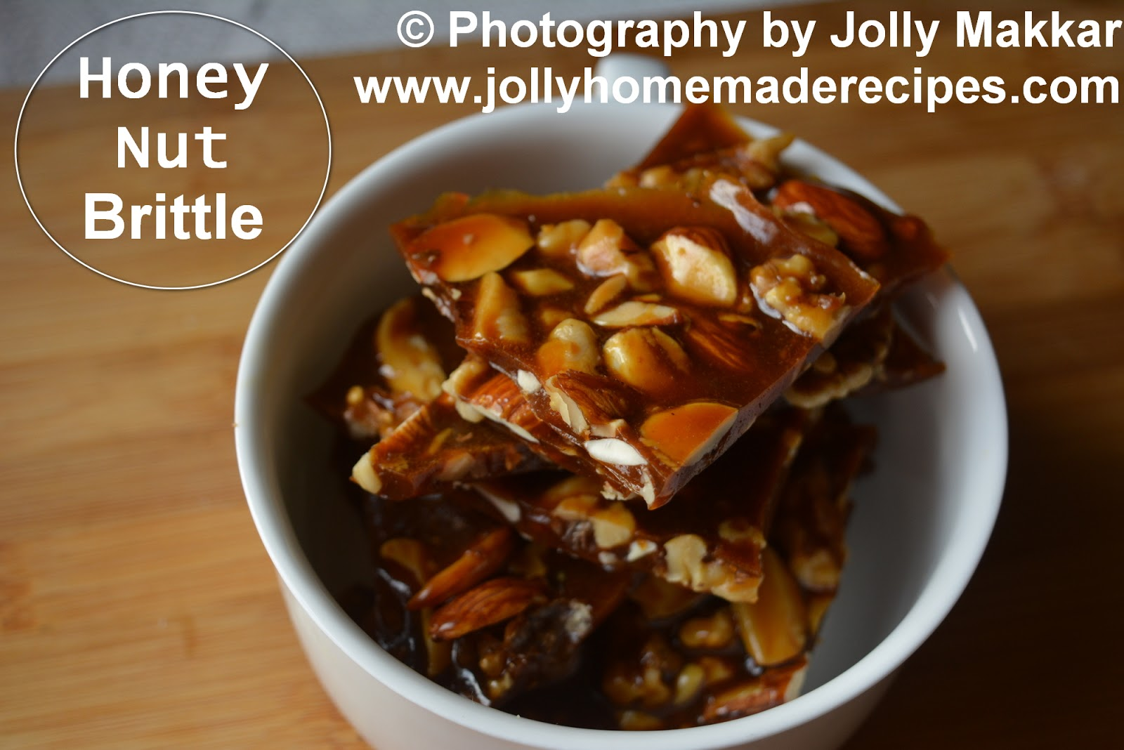 honey almond brittle