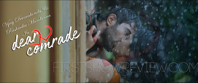 Dear Comrade : Teaser Out with Sensational Lip-lock by Vijay Devarakonda & Hot Rashmika Mandanna
