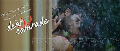 Dear Comrade : Teaser Out with Sensational Lip-lock by Vijay Devarakonda & Hot Rashmika Mandanna