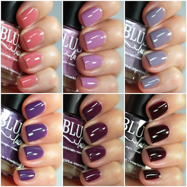 BLUSH Lacquers Dusk Cremes Collection Swatches by Streets Ahead Style