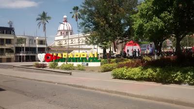 Parque de los Presidentes, Chaparral, Tolima, Colombia.