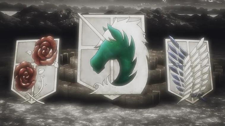 arti lambang di anime attack on titan
