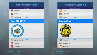 PES 2019 New National Team Logos by 1002MB