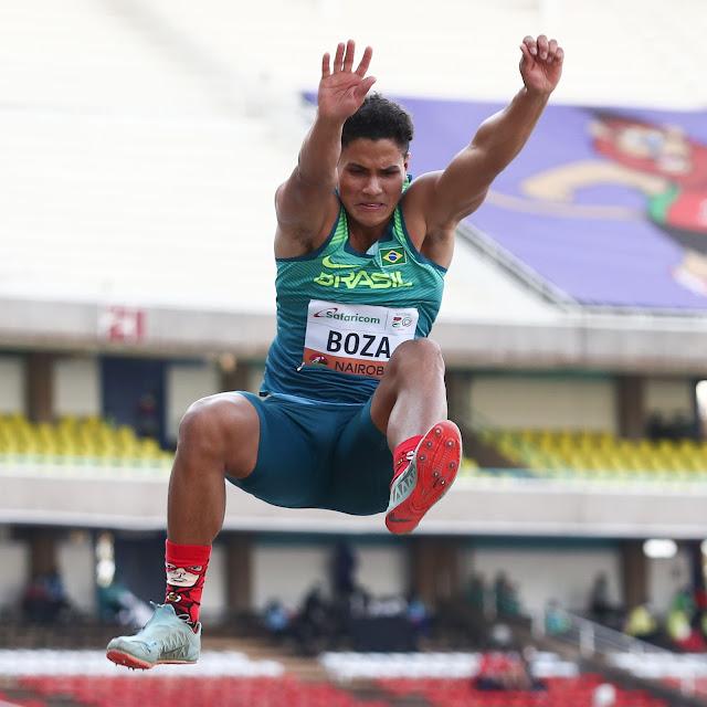 Promessa do atletismo brasileiro, Gabriel Boza compete no mundial sub-20