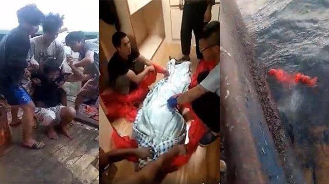 Hebooh Video Detik-detik ABK Indonesia Disiksa di Kapal China, Jasadnya Lalu Dibuang di Laut Somalia