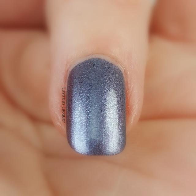 Purple-shimmer-nail-polish