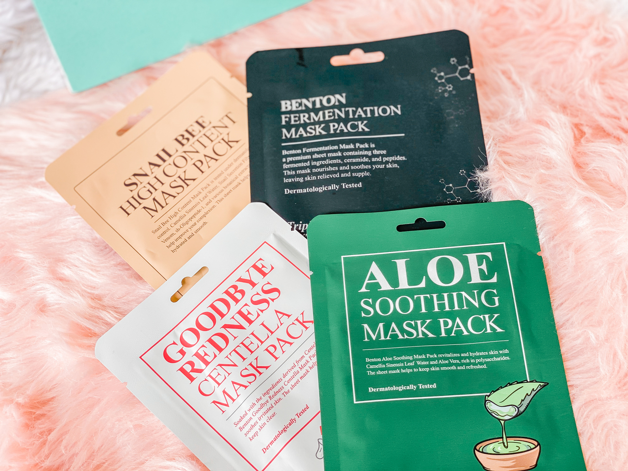 Style Korean Try Me Review Me: First Impressions on Influencers' Favorites from BENTON - SHEET MASKS