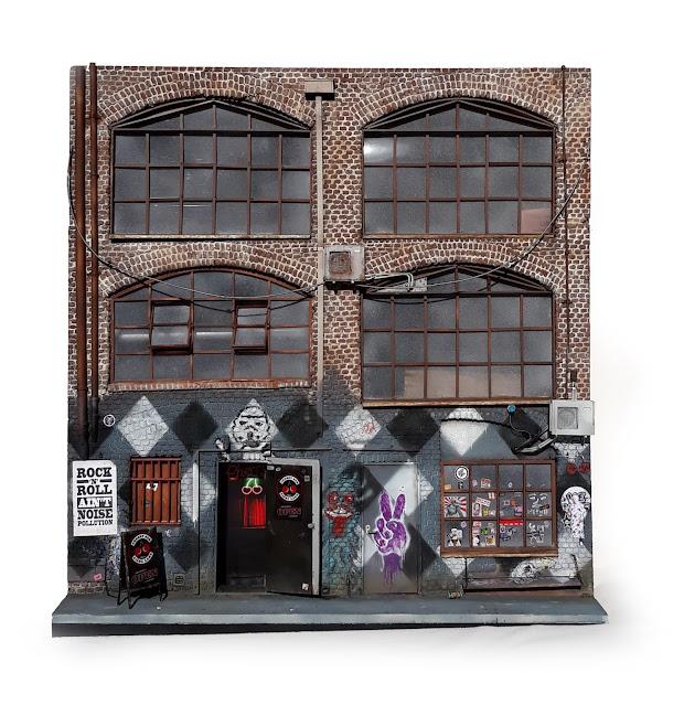 Miniature Cherry Bar in AC/DC Lane
