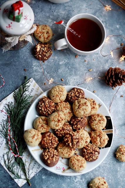 Ağızda dağılan tahinli kurabiye