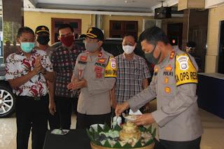 Kapolres Lumajang  Guyub Rukun Bersama Anggotanya Sambut Bulan Suci Ramadhan