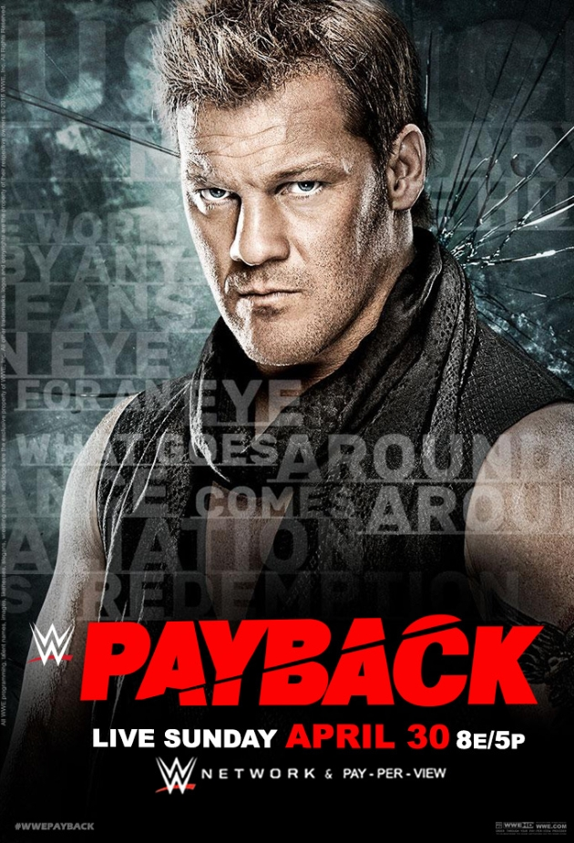 Chris Jericho à l'affiche de Payback 2017