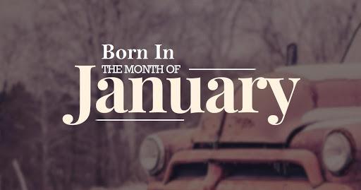 january born people